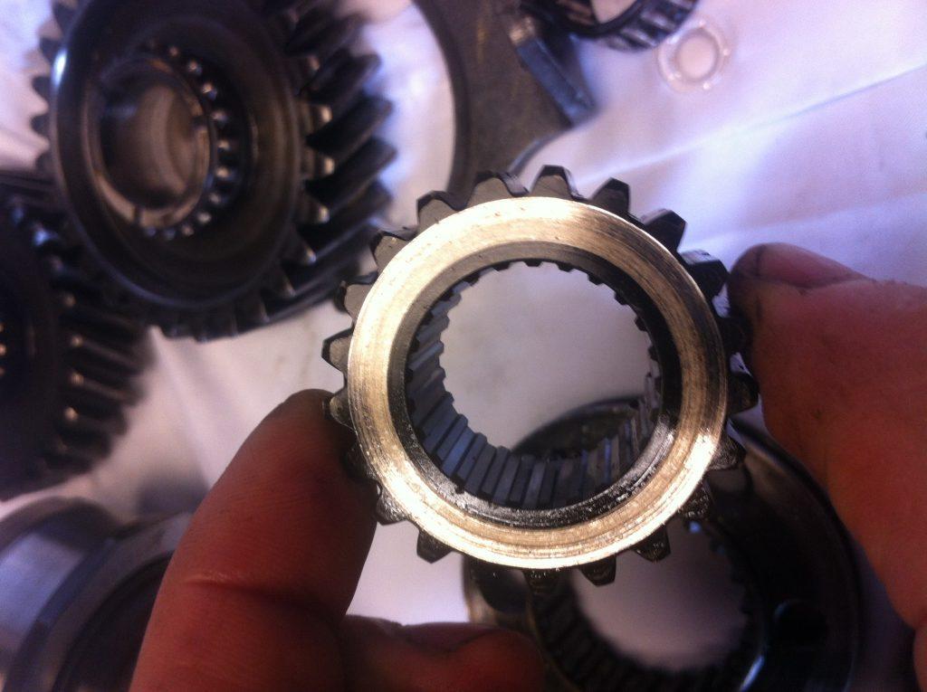 vw t3 syncro gearbox R/G synchroniser hub