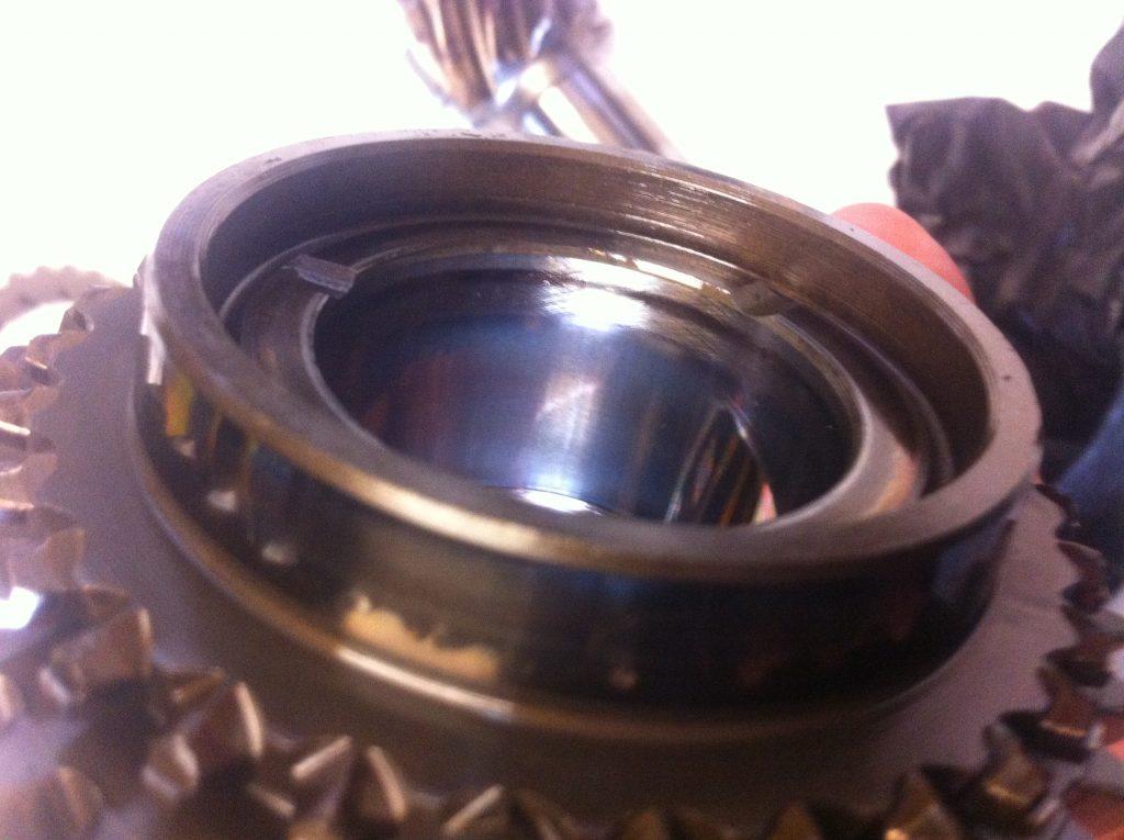 vw t3 syncro gearbox 2nd gear heat damage 2