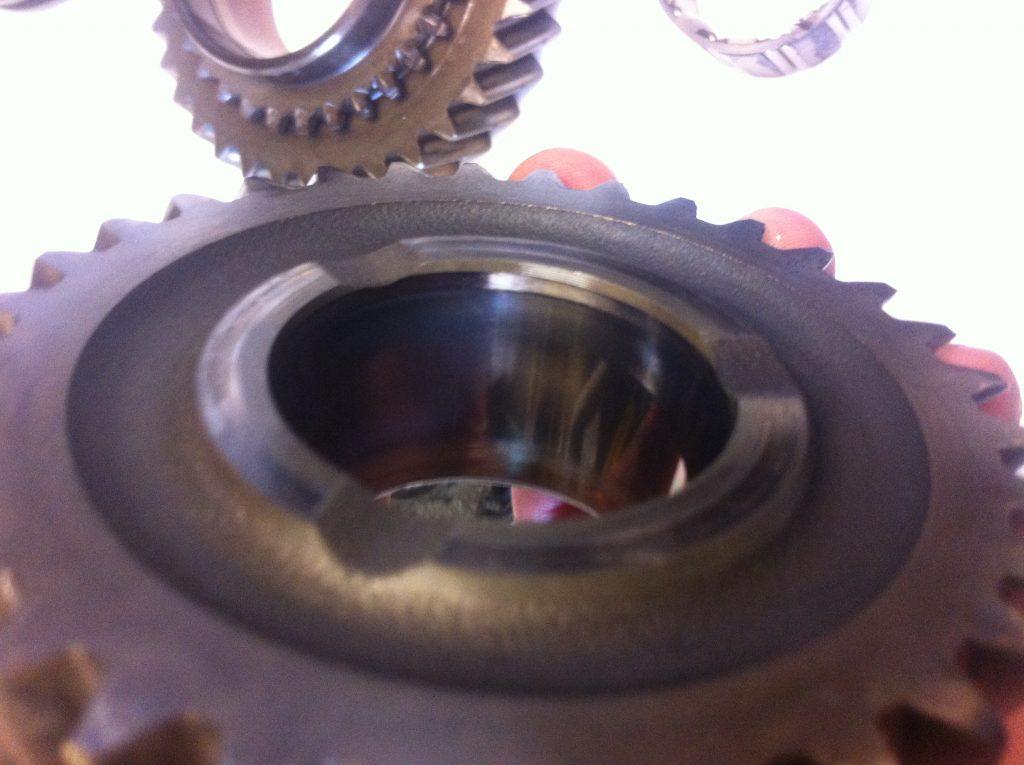 vw t3 syncro gearbox heat damage gear