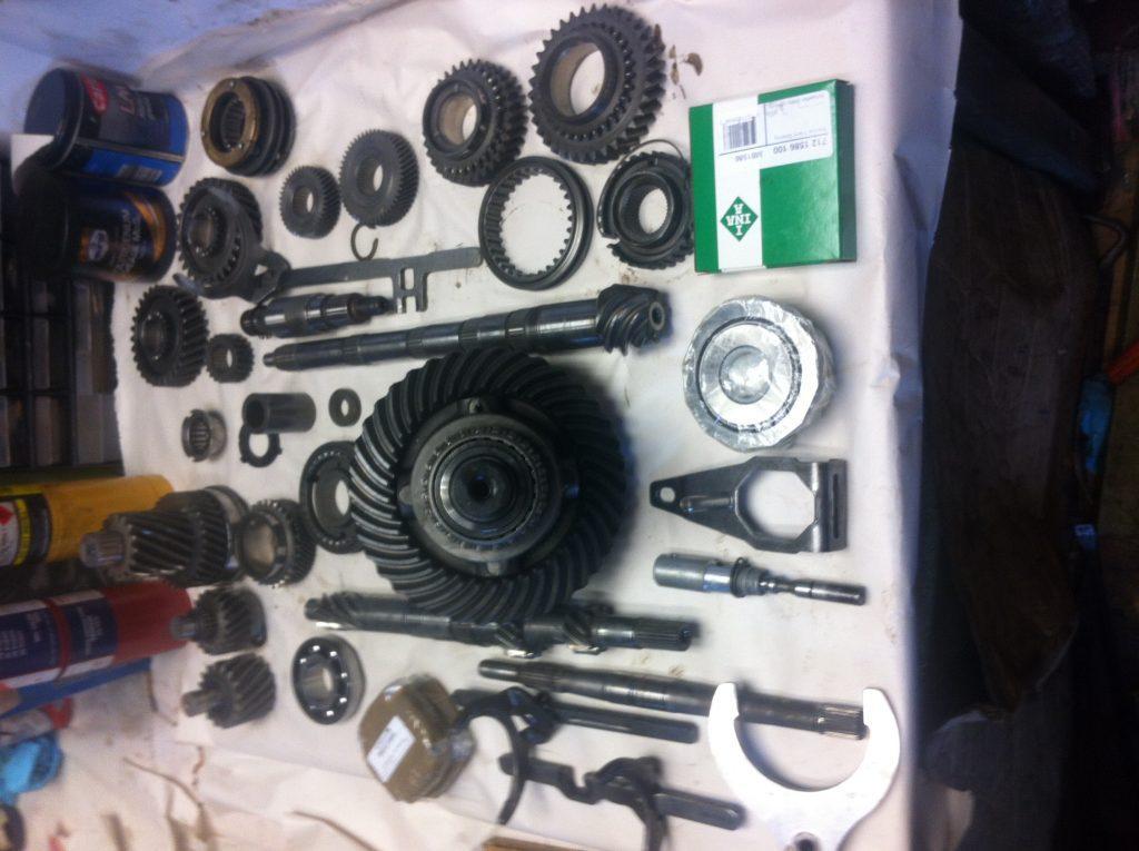 VW T3 Syncro Gearbox rebuild
