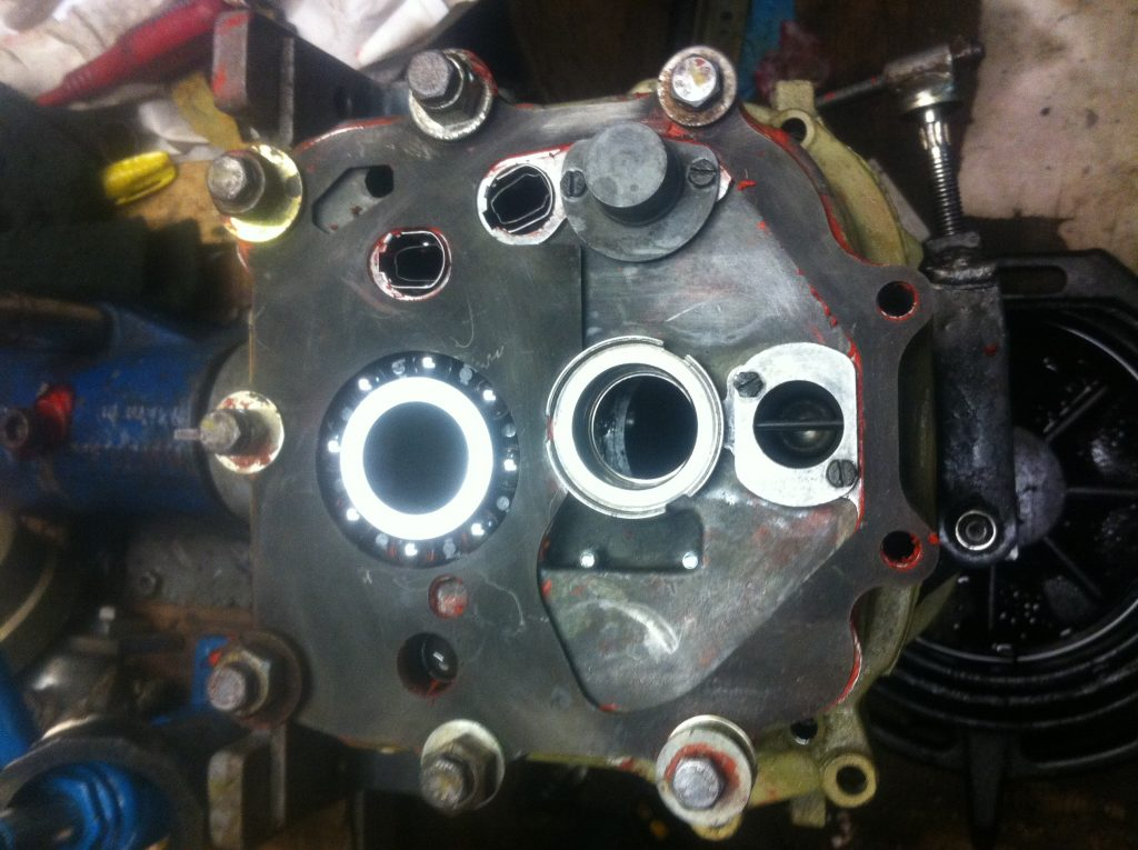 VW T3 Syncro AJT mainshaft bearing retainer