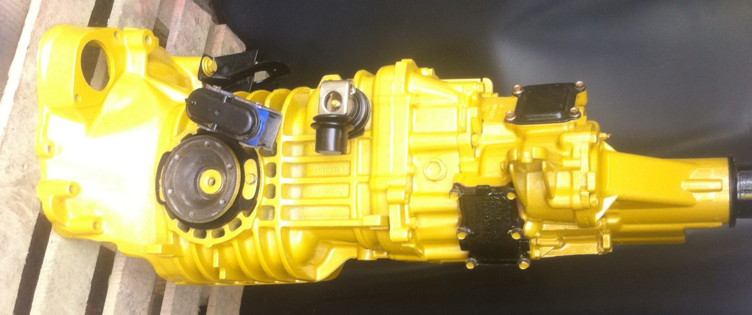 vw T3 Syncro gearbox