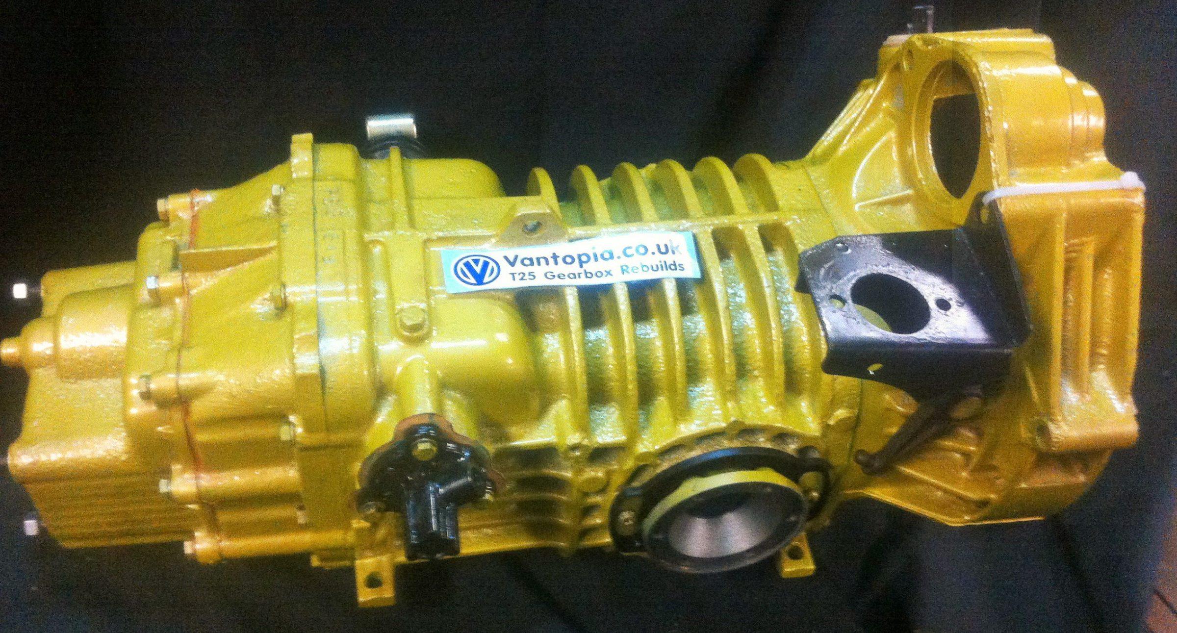 VW T3 TDI gearbox rebuild