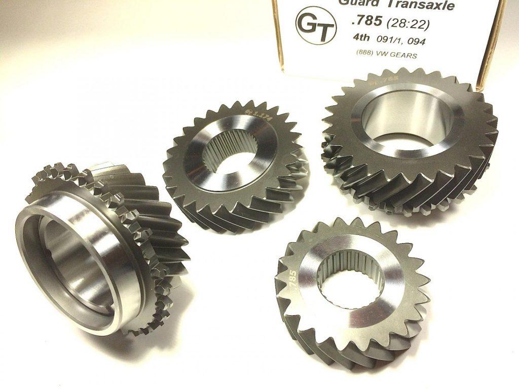 VW T3 Syncro GT gears