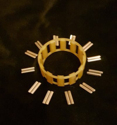 1st gear refurbished needle bearing (new needles) (2nd on 5 speed 113311265R