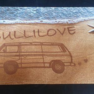 VW Bulli love Beach Towel ZCP 902 984